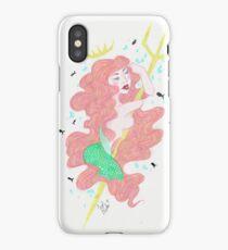 Mermaid Red iPhone Case/Skin