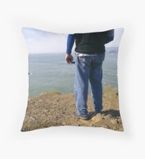 Uncertain Throw Pillow
