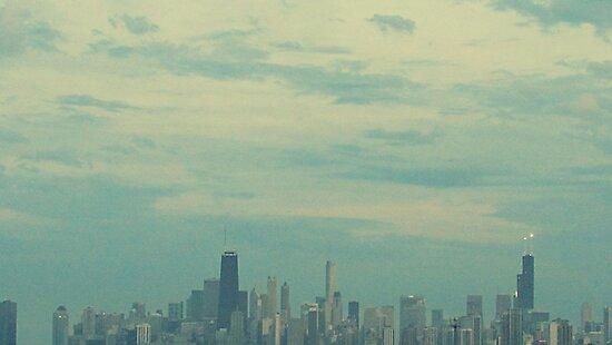 Chicago Skyline by stellawunk
