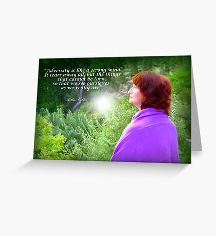 Listening to Nature Greeting Card