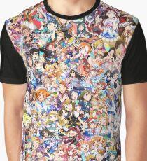 Ich liebe IDOLS Grafik T-Shirt
