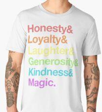 My Little Pony - Elements of Harmony - Rainbow Men's Premium T-Shirt