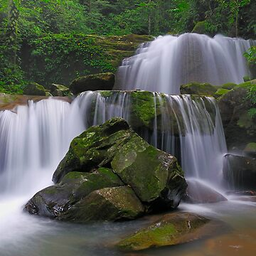Double Waterfalls by jollence