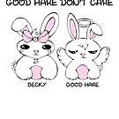 Becky with the Good Hare - Kawaii Bunnies by AdrienneAllen