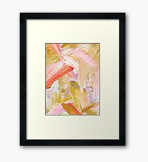 Shiloh - Abstract Contemporary Brushstrokes Framed Print