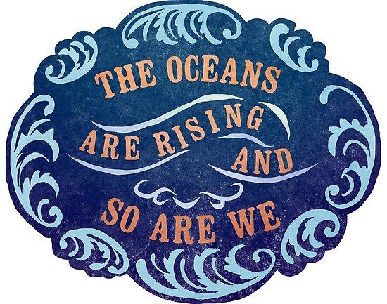 Die Ozeane steigen und wir sind es auch von fabfeminist