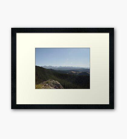 Yellowstone Forever Framed Print