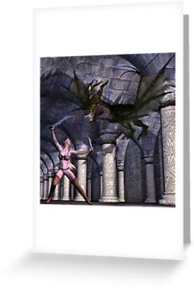 Dragon Slayer by Rose Moxon