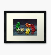 Sweet Candy Pack Framed Print