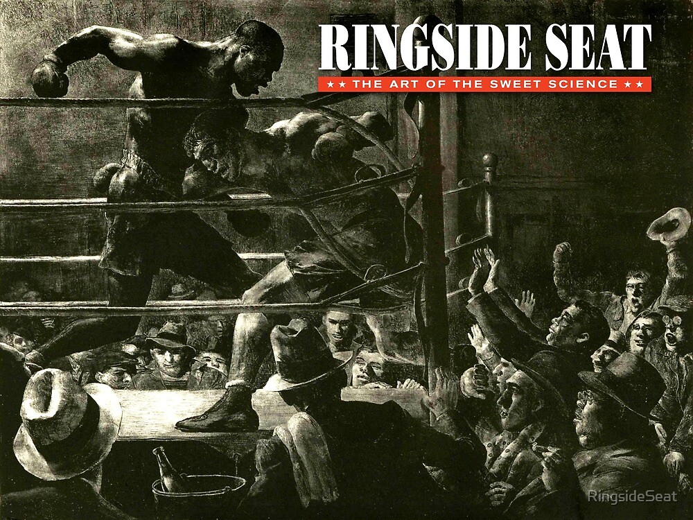 RINGSIDE SEAT Website Art by RingsideSeat