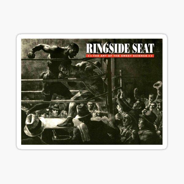 RINGSIDE SEAT Website Art Sticker