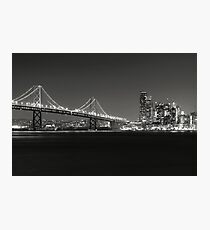 San Francisco Bay Bridge Photographic Print