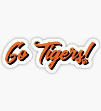 Go Tigers! Sticker