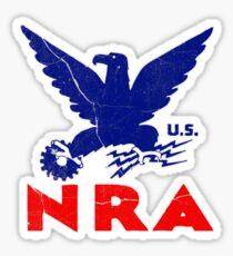 Old Logo NRA Sticker