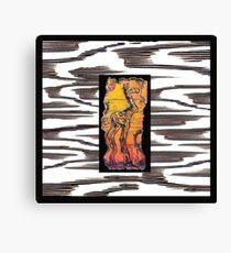 GiGi Giraffe Gone Wild Canvas Print