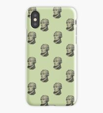 The Ten Dollar Founding Father Without a Father iPhone Case