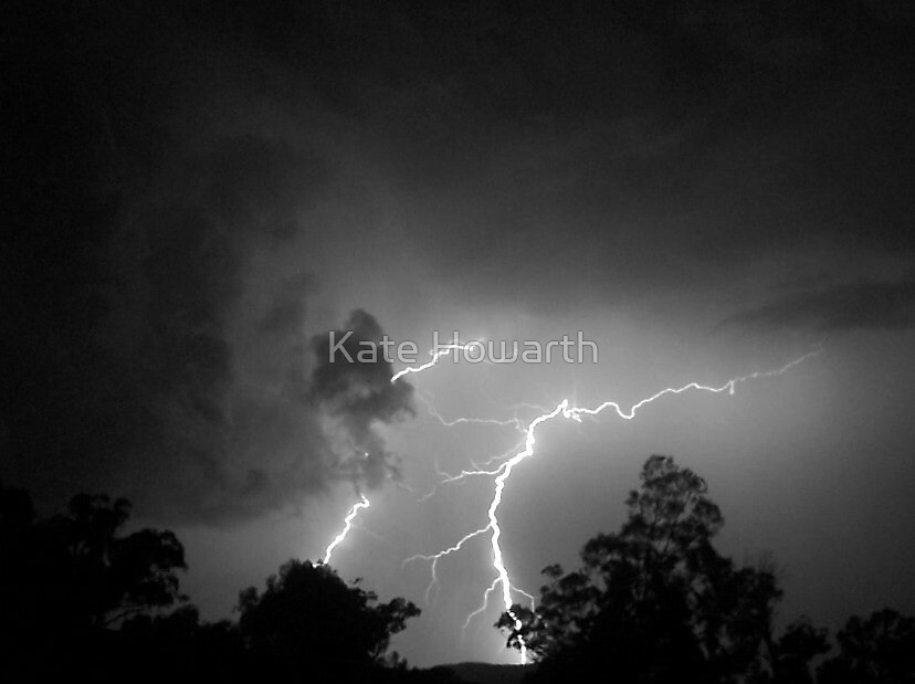 Storm over Wee Jasper by Kate Howarth