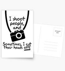 Photographer Postcards