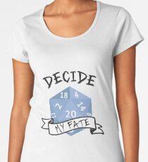 Dice Decision Women's Premium T-Shirt