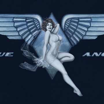 Blue Angel Pinup by LilyM