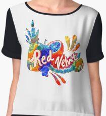 Red Velvet - Red Flavor Women's Chiffon Top