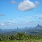 Glasshouse Mountains by GloriaDK