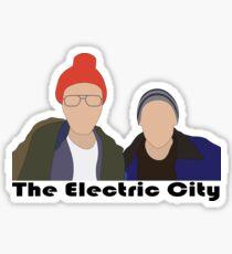 Pegatina La ciudad eléctrica