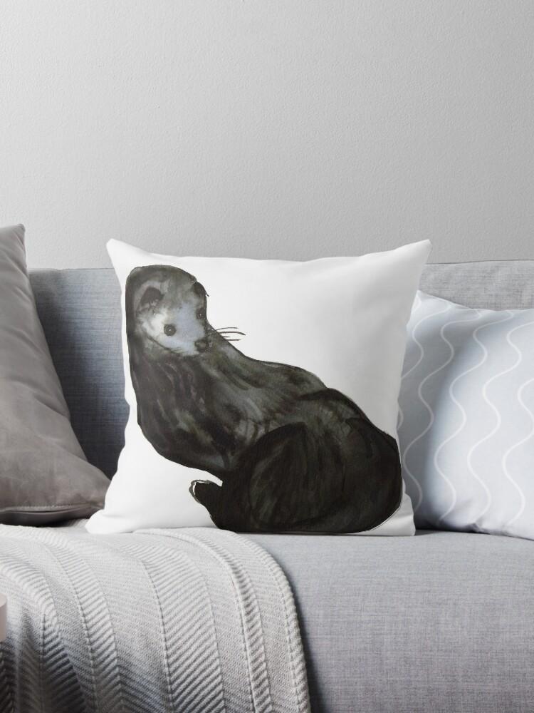 Gloomy Otter/ Nutria Sombría by NataliaMotta