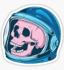 Astro Skull Sticker