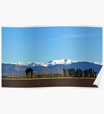 After the rain - Canterbury plains Poster