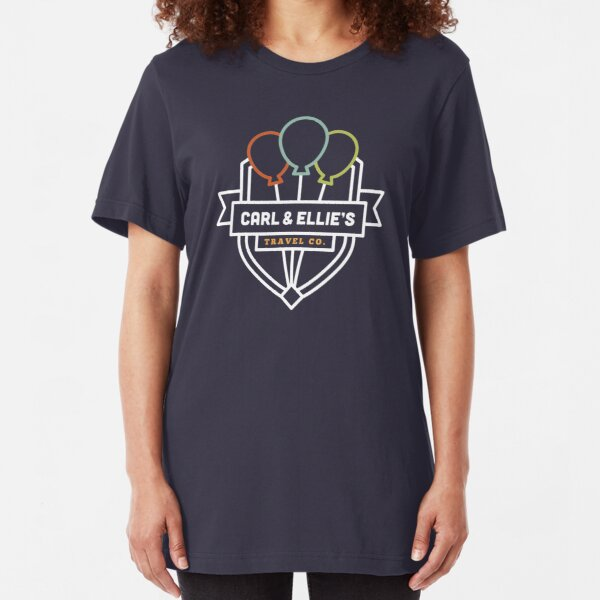 Carl & Ellie's Travel Company Slim Fit T-Shirt
