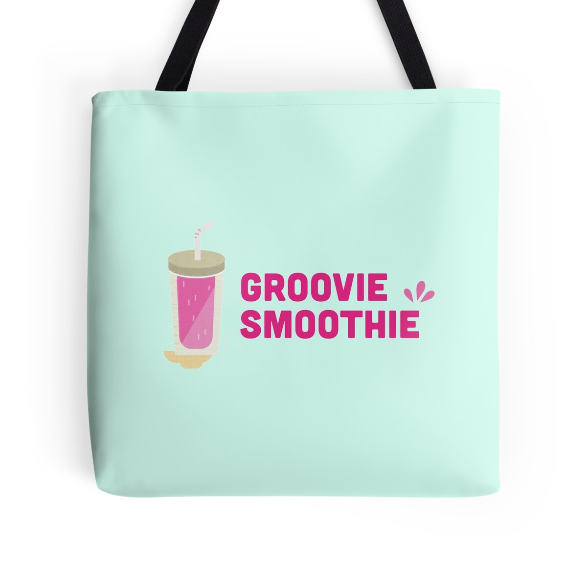 """Groovie Smoothie"""" Tote Bags by tofusan 