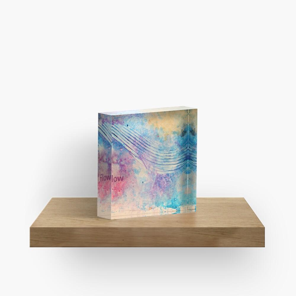 Flow Acrylic Block