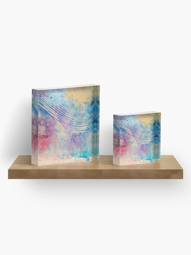 Alternate view of Flow Acrylic Block