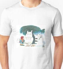 Totoro and mae T-Shirt