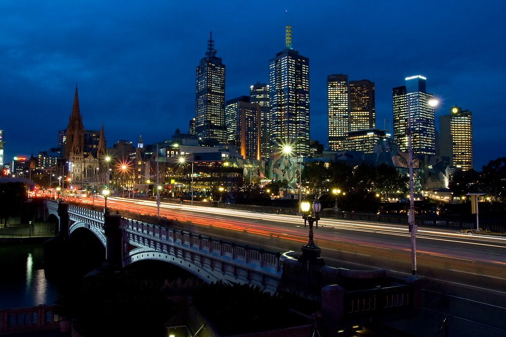 Melbourne Rush Hour by Chris Putnam