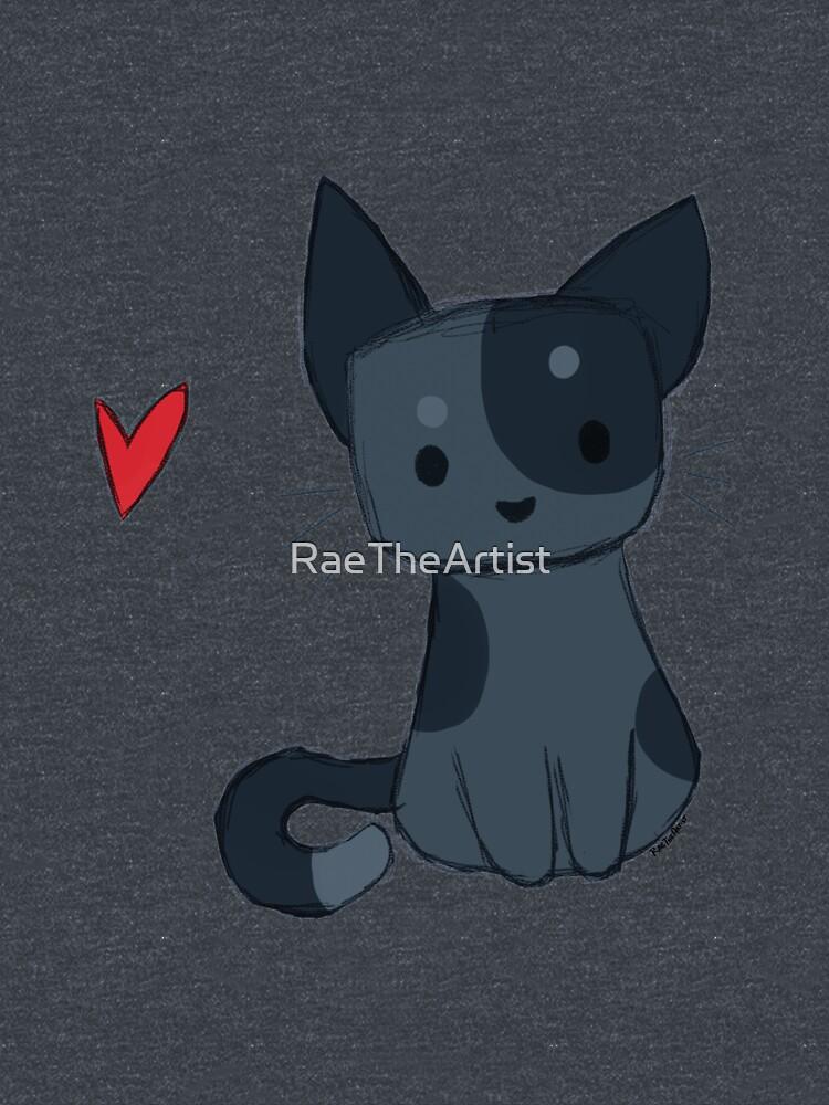 Sketchy Kitten by RaeTheArtist