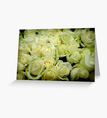 Cream & Green Greeting Card