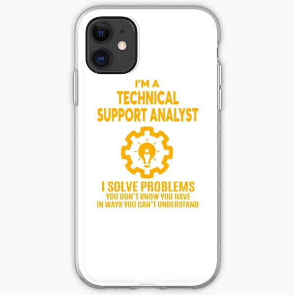 TECHNICAL SUPPORT ANALYST - NICE DESIGN 2017 iPhone Soft Case