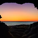 Sunset Cave by Mark Langworthy