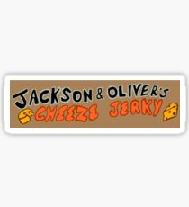 Cheese Jerky sign Sticker