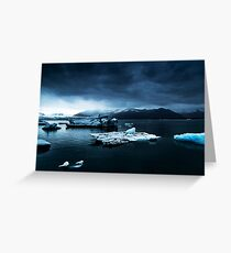 Iceland Photography #tapestry #block Greeting Card