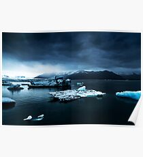 Iceland Photography #tapestry #block Poster