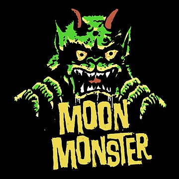 Moon Monster // Vintage Monster Fan Club by JayLenosChin