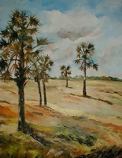 Trees in flatland by ArielMaldonado