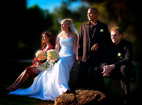 Bridal Party by Peter Evans