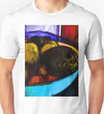 Avocado with Apples and Mandarins in a Bowl T-Shirt