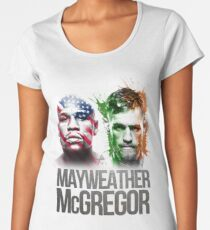 Mayweather Vs Mcgregor Women's Premium T-Shirt