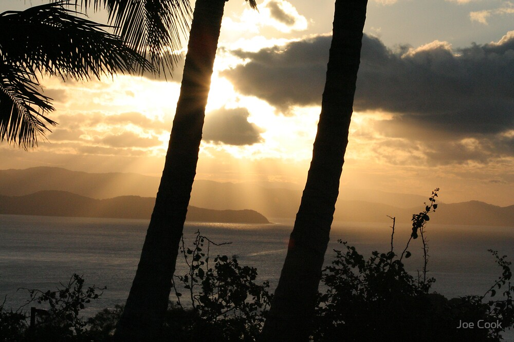 Hamilton Island sunset 5 by Joe Cook