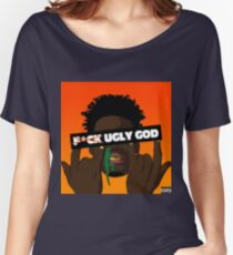 fuck ugly god  Women's Relaxed Fit T-Shirt